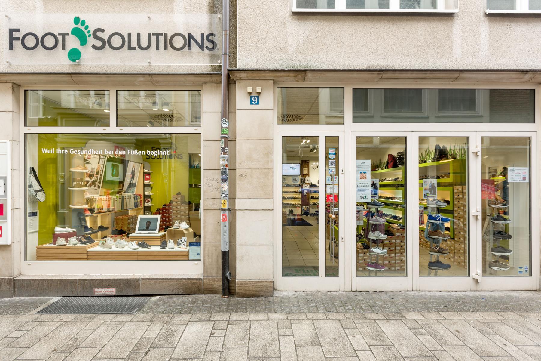 Foot Solutions Filiale in Düsseldorf