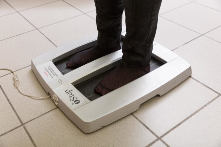 Digitale Fußmessung im Foot Solutions Fachgeschäft
